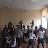 Танцевальный флеш-моб в фотоальбом
